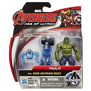 Avengers - Marvel Avengers Age of Ultron Hulk Vs. Sub-Ultron 003 2.5-inch Figure Pack