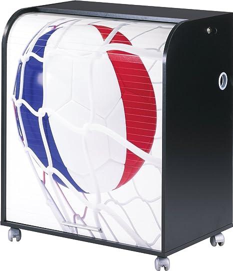 Simmob MUST095NO998 Francia 998 Pallone Coppa del mondo informatico mobile legno, 53,2 x 79,2 x proprietà al 93,8 cm