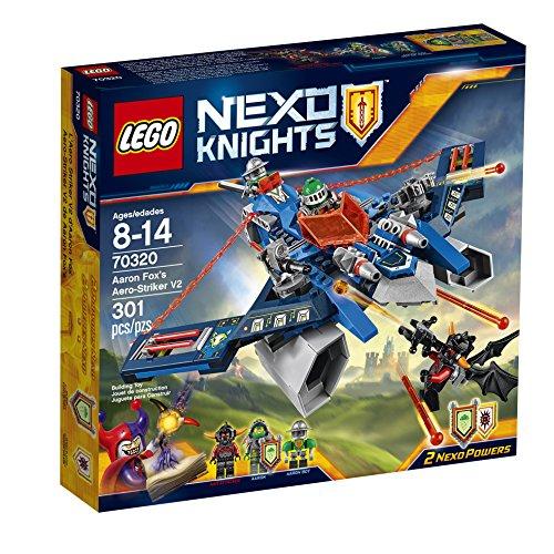 LEGO Nexo Knights 70320 Aaron Fox's Aero-Striker V2 Building Kit (301 Piece) JungleDealsBlog.com