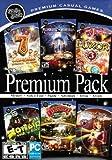 Mumbo Jumbo Premium Pack: 7 Wonders: Treasures Of The Seven + Midnight Mysteries: Edgar Allen Poe Conspiracy + Luxor 3 + Zombie Bowl-O-Rama + Discovery! + Samantha Swift: Fountains Of Fate
