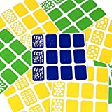 BMC Super Fun 8pc Mixed Pattern Manicure Nail Art Vinyl Stickers Set