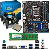 INTEL Core i5 3470 3.2Ghz, ASUS P8H61-MX USB3 & 4GB 1600Mhz DDR3 RAM Bundle
