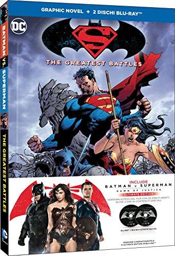 Batman V Superman: Dawn of Justice con Graphic Novel (2 Blu-Ray)