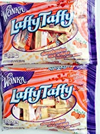 Valentine Laffy Taffy - Strawberries and Creme - 2 Pack - Limited Edition