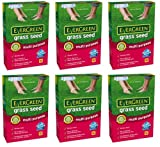 6 x Boxes Of EverGreen Grass Seed ,Multi-Purpose Lawns 420g Each