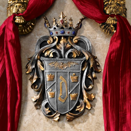 Design Toscano Count Dracula's Coat of Arms Wall Plaque, Multicolored discount price 2016