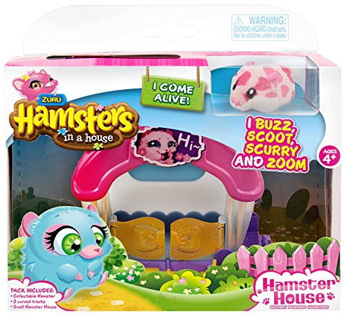 Hamsters In A House 6031571 - Playset Casa, Assortiti