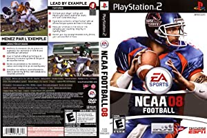 NCAA Football 2008 - PlayStation 2 by Electronic Arts