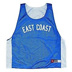 East Coast vs West Coast Lacrosse Pinnie
