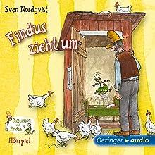Findus zieht um (Pettersson und Findus Hörspiel) Hörspiel von Sven Nordqvist Gesprochen von: Laura Maire, Fred Maire, Jens Wawrczeck