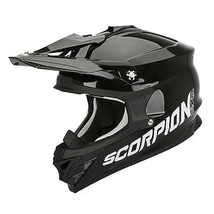 SCORPION 35-100-03-02 Casque de Moto, Multicolore, Taille XS