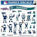 MLB Seattle Mariners Large Family Decal Set Amazon.com