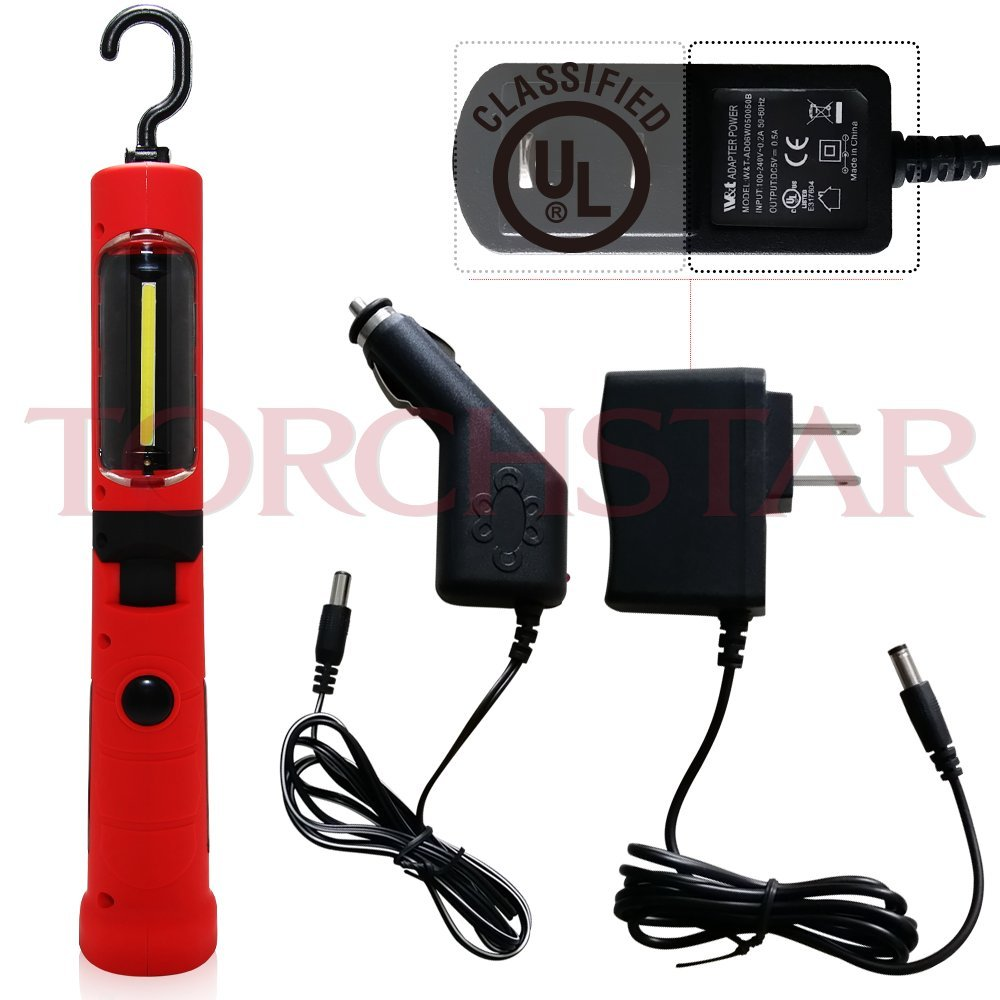 3w portable rechargeable led work light with magnetic base power car. Black Bedroom Furniture Sets. Home Design Ideas