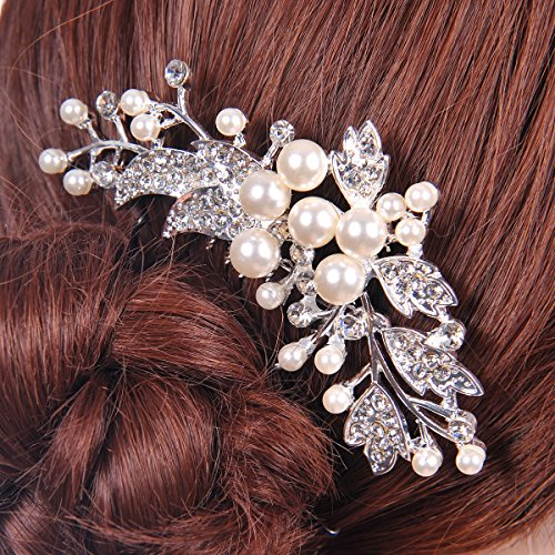 Remedios Crystal Hair Comb Wedding Hairpiece Bride Headpiece