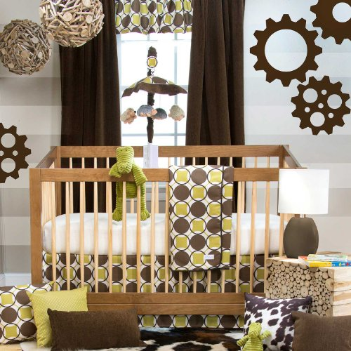 Sweet Potato Crib Bedding Set, Urban Cowboy, 3 Piece