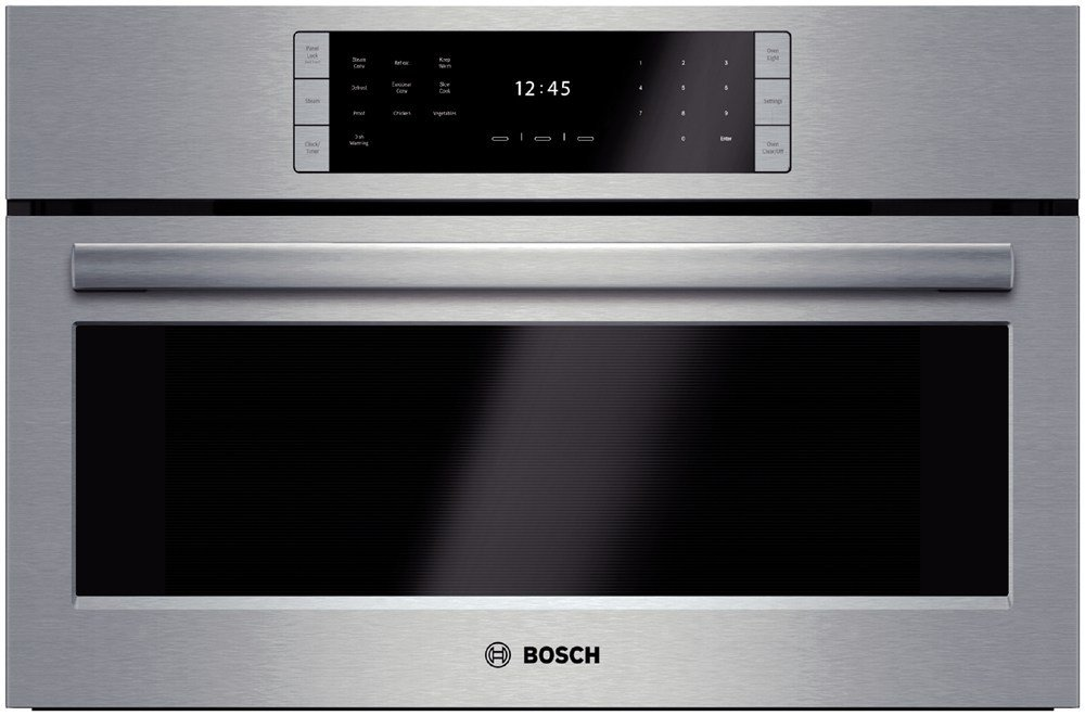 "Bosch HSLP451UC: 30"" Steam Convection Oven Benchmark Series - Stainless Steel"