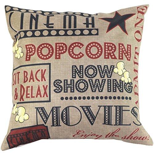 Pillowcase, Ammazona Vintage Cotton Linen Throw Pillow Case Blended Cushion Cover Home Decor