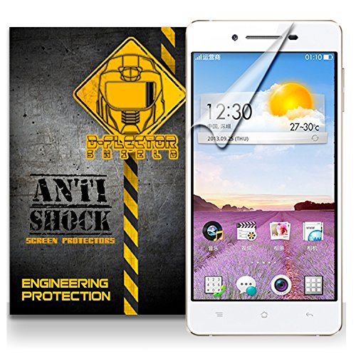D-Flectorshield Oppo R829T Anti-Shock/Military Grade/ Tpu /Premium Screen Protector / Self Healing / Oleophobic Material / Ez Install / Ultra High Definition / Scratch Proof / Bubble Free Install / Precise Laser Cuts front-478162