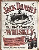 Jack Daniels - Sippin Whiskey Blechschild, 31x41