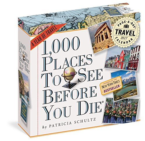 1,000 Places to See Before You Die: A Year of Travel (2016 Calendar)
