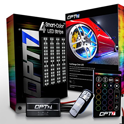 OPT7 3-Into-1 AuraColor™ Wheel Well LED Kit | 4pc Complete 24