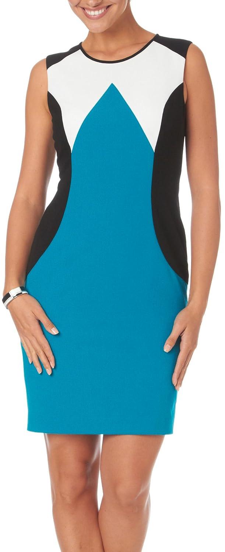 Siena Studio Modern Colorblock Sheath Dress: