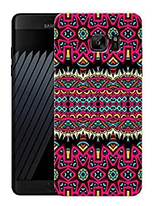 "Beautiful Aztec Tribal Pattern Printed Designer Mobile Back Cover For ""Samsung Galaxy Note 7"" (3D, Matte, Premium Quality Snap On Case)"