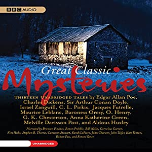 Great Classic Mysteries Audiobook