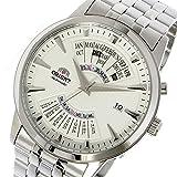 オリエント ORIENT 自動巻き メンズ 腕時計 SEU0A003WH ホワイト[逆輸入品]