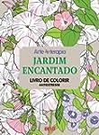 Jardim Encantado. Livro de Colorir An...