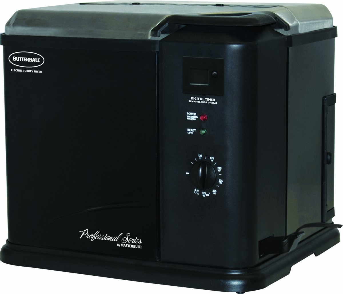 Masterbuilt 20010611 Butterball Professional Series Indoor Electric Turkey Fryer Black at Sears.com