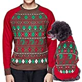Blueberry-Pet-Vintage-Ugly-Christmas-Themed-Holiday-Festive-Dog-Sweater-Dog-Accessories-Matching-Mens-Womens-Sweater-Sold-Separately-Search-ASIN-B01HXOO678