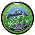Smokey Mountain Wintergreen Pouches - .8oz Canister (10 Can Box) Tobacco Free
