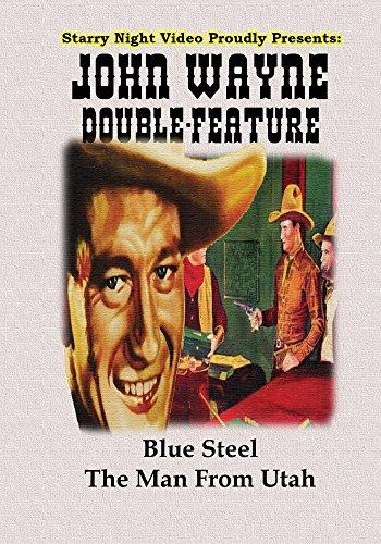 John Wayne Double Feature #5 - Blue Steel & The Man From Utah (Movie Man Of Steel)
