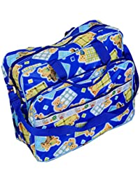 Kuber Industries™ Baby Diaper Nappy Changing Baby Bag Mummy Handbag In Baby Print Imported Material (KI19638)