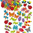 Interesting Insect Foam Stickers (Pack of 120)