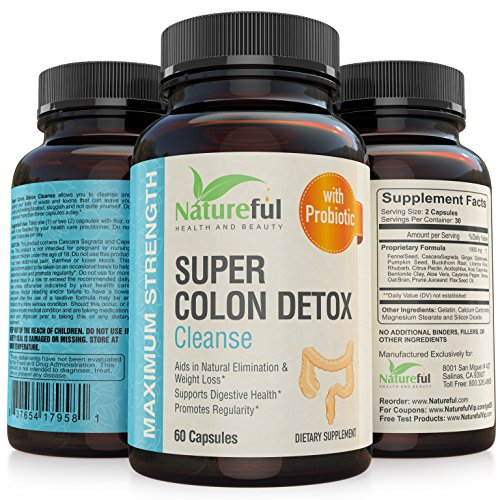 Best Colon Cleanse for-Weight-Loss: Belly fat Burner for Women with Probiotics! ★ Flatten Stomach or Your Money Back ★ The Original Natural and Complete Detox Cleanse Pills to Lose Belly Fat! (Oxy Gel Shake compare prices)