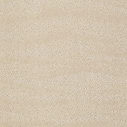 Round 10\' Surfs Up Chic Cream | Pattern Cut Pile and Loop Textured Area Rug