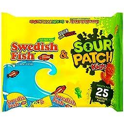 Sour Patch Kids Seasonal Swedish Fish Bag, 3.75 Pound