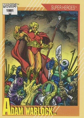 Adam Warlock #29 (Marvel Universe Series 2 Trading Card 1991) (Marvel Universe Adam Warlock compare prices)