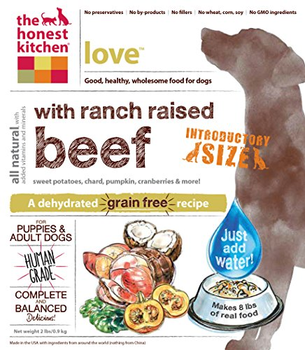 The Honest Kitchen Love: Grain Free Beef Dog Food, 2 lb_Image5