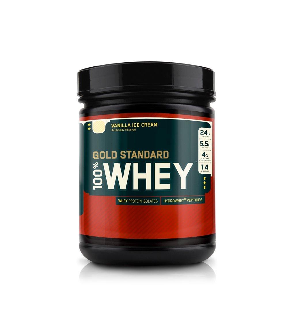 ON Whey Gold Standard - 1 lb Vanilla Ice Cream