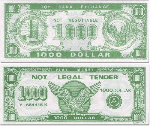 Paper-Play-Money-Bulk-1000-of-1000-Bills-Per-Package