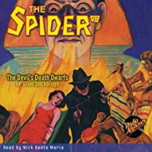 Spider #37: October 1936 Audiobook by Grant Stockbridge,  Radio Archives Narrated by Nick Santa Maria