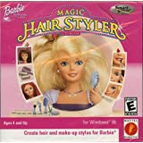 Computer Games: Barbie Magic Hair Styler ~ CD-ROM ~ JC