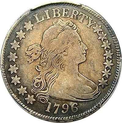 1796 P Bust Half Dollars 15 Stars Half Dollar VF25 PCGS