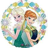 4x Disney Frozen Fever Anna & Elsa Summer 18 Mylar Balloons Party Decorations