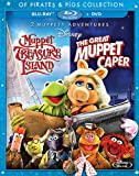 Muppet Treasure Island / The Great Muppet Caper (Of Pirates & Pigs 2-Movie Collection) [Blu-ray + DVD]