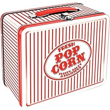 Aquarius Vintage Popcorn Large Tin Fun Box