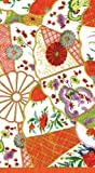 Hand Towels or Paper Guest Towels Party Supplies Colonial Williamsburg Imari Coral 30 Count